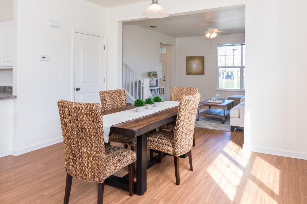 Dining Room in Rental Home