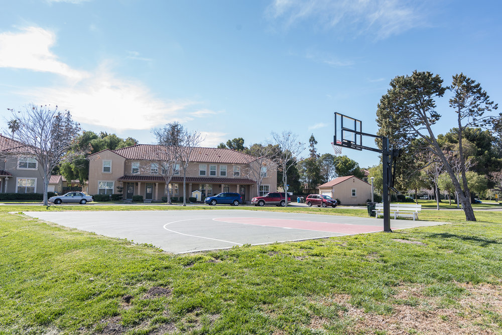 Apartment Community Basketball Court