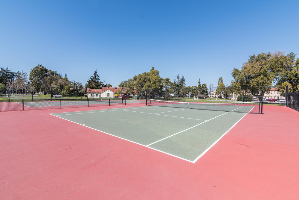 Apartment Community Tennis Courts