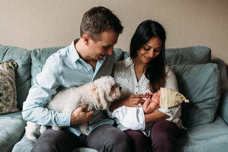 Abby Kennan Photography-San Antonio Newborn Photographer-Newborn-Family-Dog