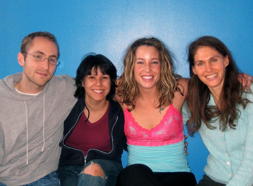 Tim, Yasmin, Tandy & Carolan