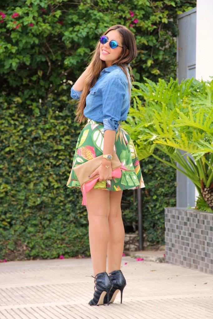 Falda Tropical 3
