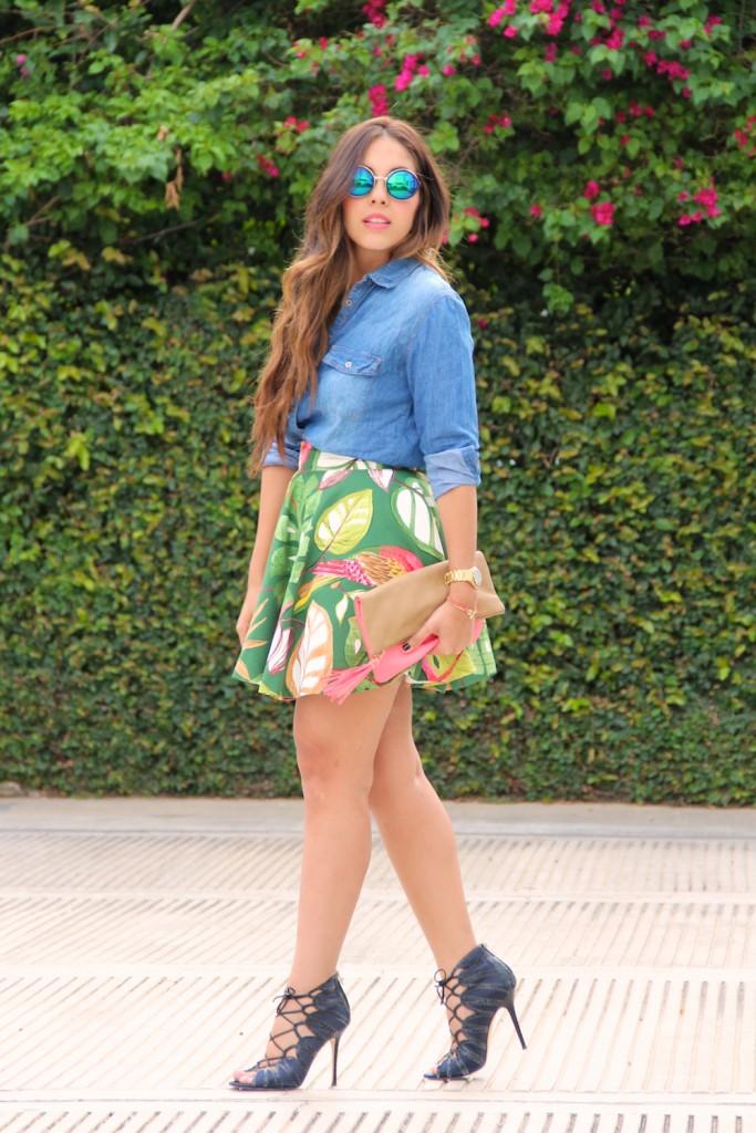 Falda Tropical 5