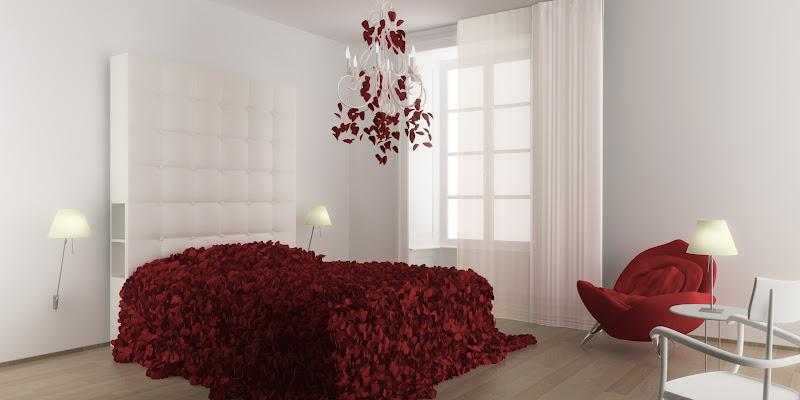 bedroom-petals
