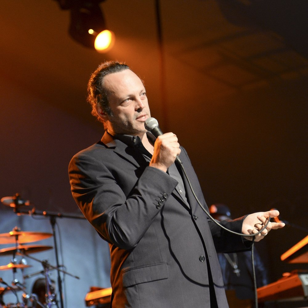 Vince Vaughn on stage