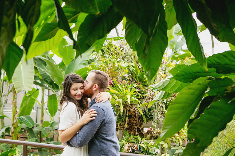 Kate Trevor Chicago Botanic Garden Glencoe Il Engagement
