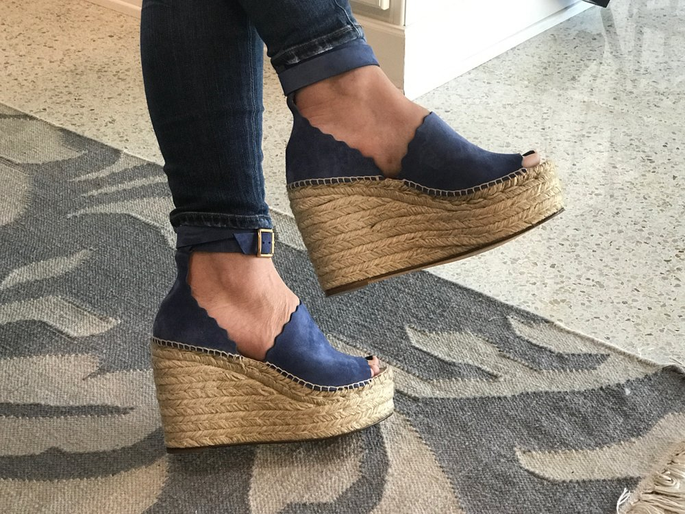 e16aba3fc4f Best Blue Suede Shoes  Chloe