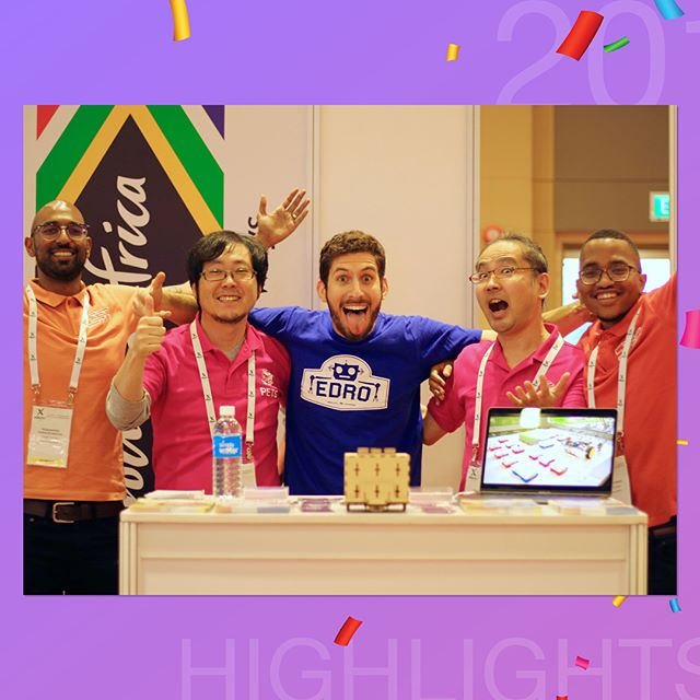 🌟⭐️😆😄😃😁⭐️🌟 And finally CRSP dsgn's greatest highlight for 2017 has to be getting the opportunity to exhibit and present at @edtechxasia in Singapore! 🛫✈️🛩🛬😍 . This trip was truly an eye opener! 😳🙌🏽 We left South Africa with the notion that we were behind technologically as a country... 😓 To top it off, we had also made the assumption that the international EdTech market wouldn't be welcoming of untested products from Africa that prioritised affordability and access - but boy were we wrong! 😅😏 The amount of interest we received from the Asian delegates really inspired us to look beyond our shores as we build a future with democratised quality education! 😌🙏🏽 . Thank you to the CiTi EdTech Cluster and #DTI for making it happen! 😄👍🏽🙏🏽😃 This was truly the highlight of our year! 🤩 . PS. Playing with the #PETS robot 🤖 from @forourkids4ok was really cool - and super challenging! 😅🙈 Check them out! . #Countdown2CRSP2018 #CRSP2017 #EdTechX #EdTechXAsia #Innovation #21CenturyLearning #Education #Tech #StartupLife #Startup #Entrepreneurship #Entrepreneur #Engineering #Electronics #Coding #Programming #Robotics #STEM #BestNine #BestNine2017 #2017 #2018