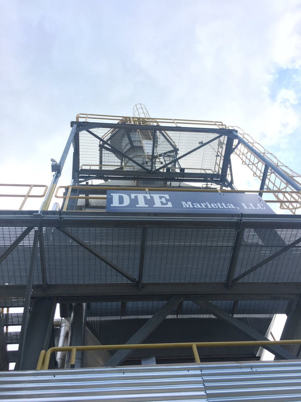 DTE Energy Services owns and operates the combined heat & power facility, while Solvay Specialty Polymers purchases and provides the fuel required to operate the facility and produce the electricity and steam used to power Solvay's operations.