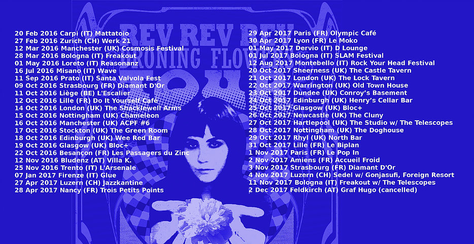 Rev Rev Rev's extensive European tour (2016-2017)