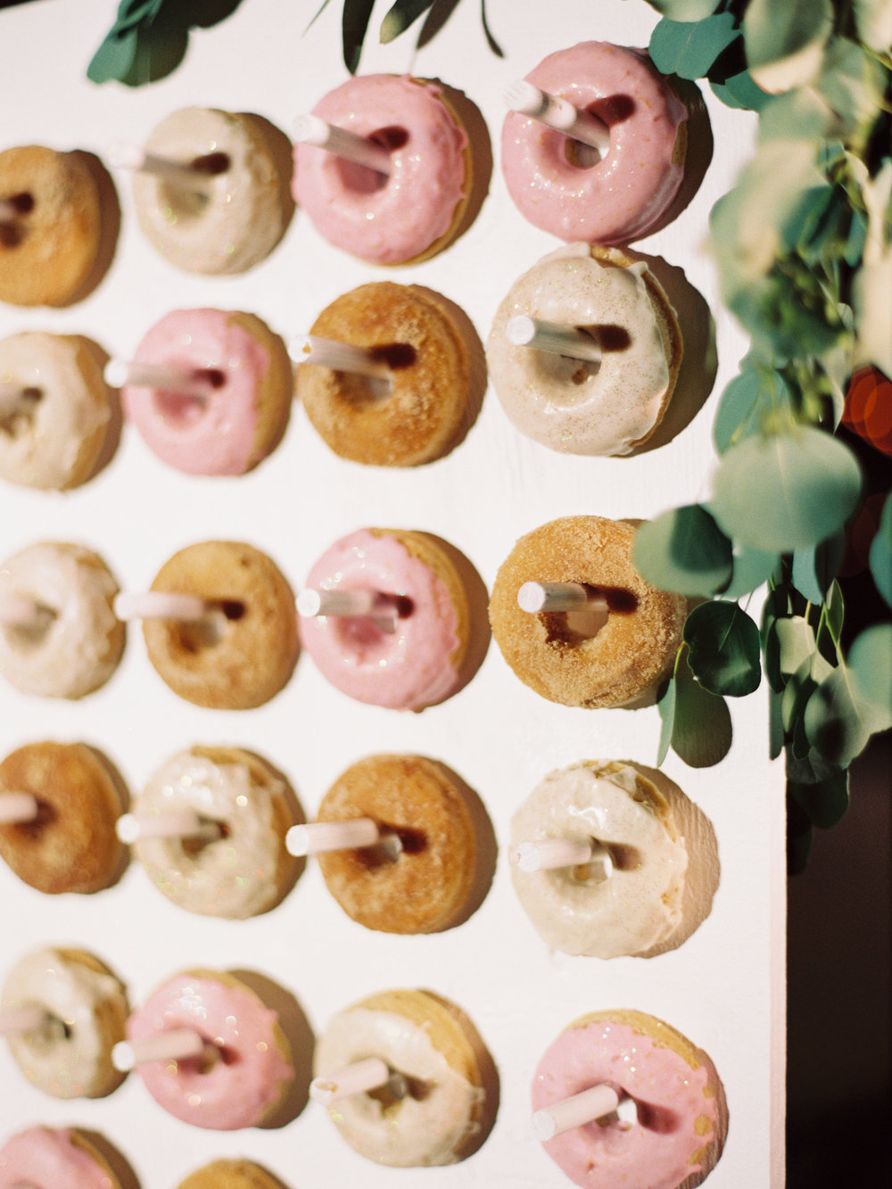 Vegan donuts from  Lux Central