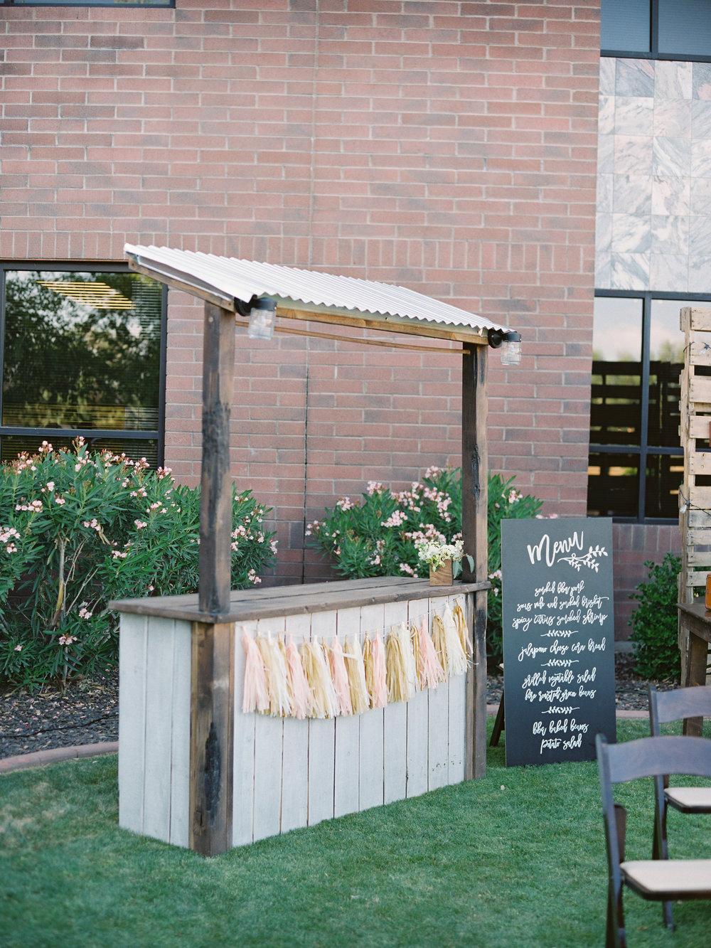 Bar from  Top Notch Rentals AZ .