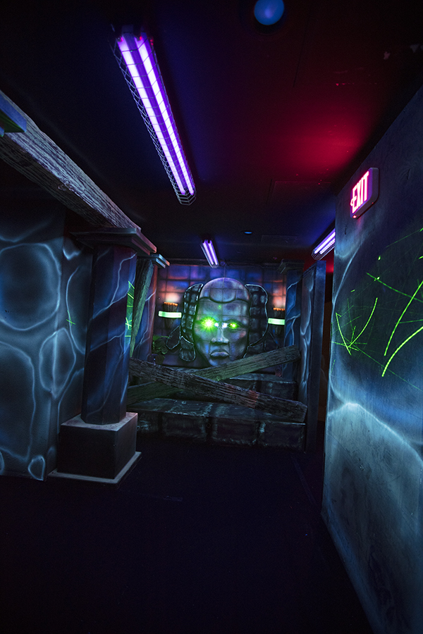 Our laser arena is the biggest in SoCal!