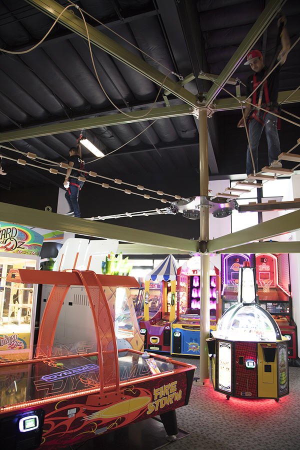 Our 40 arcade games will keep you and your kids occupied for hours!