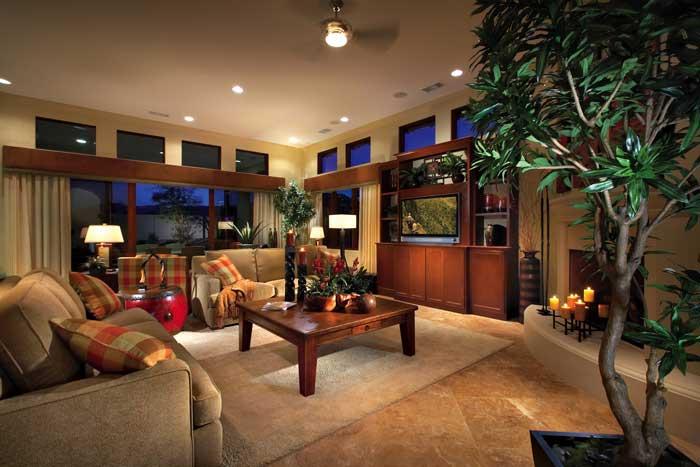 Stonefield Estates At Santa Rosa Plan-4 Family Room