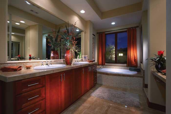 Stonefield Estates at Santa Rosa Plan-4 Master Bath