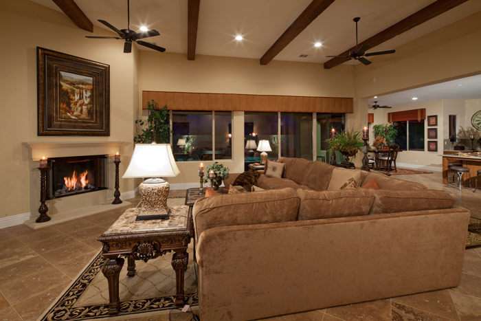 Stonefield Estates Indio Plan-3 Great Room