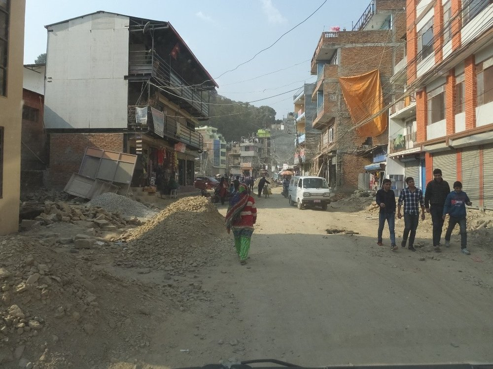 The roads in KTM