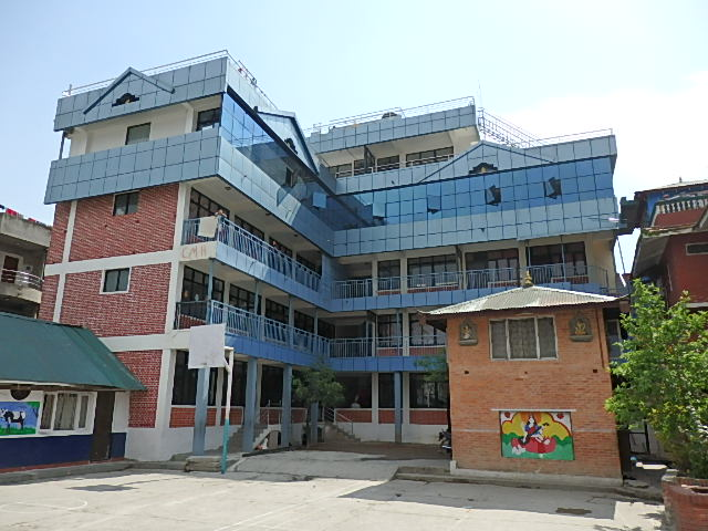 Children's Model Higher Seconday School where 10 of our children live and attend school