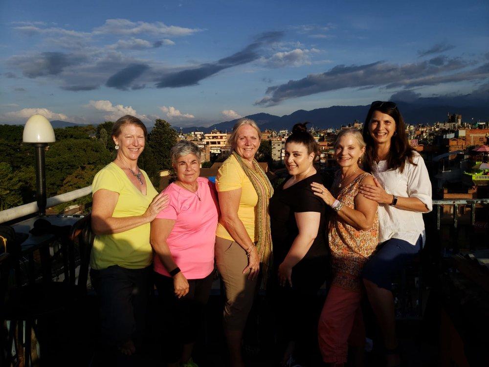 Nan, Arlene, Reva, Ellie, Cindy (author), Christine