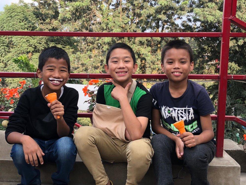 Sudip, Arun, and Bijay