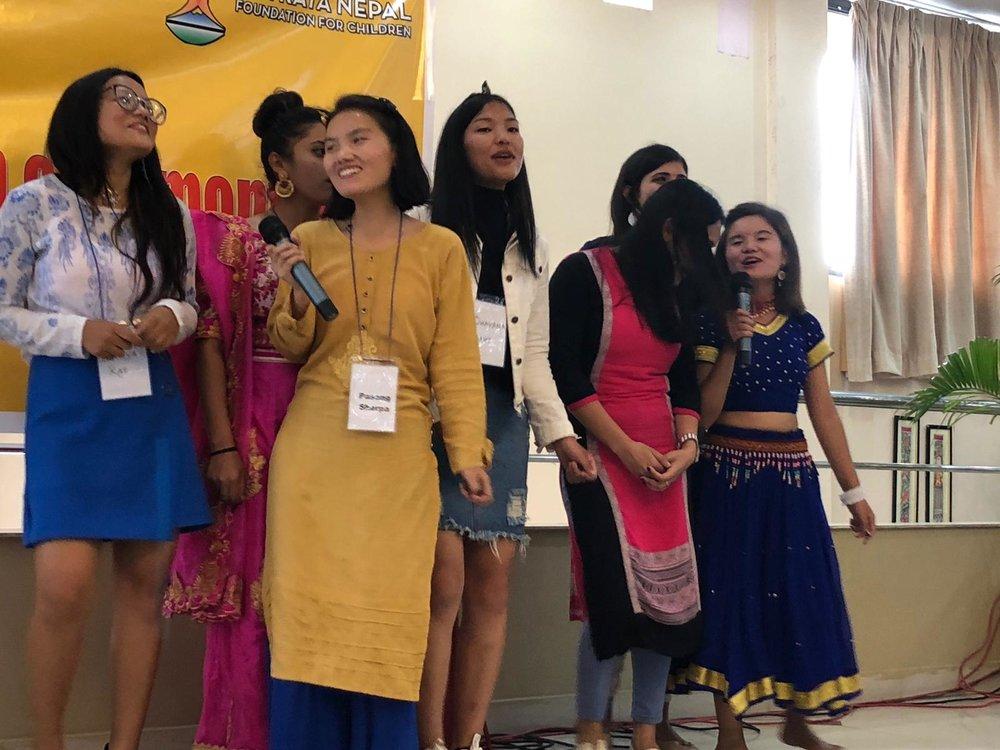 Pragya, Pasang, Manju, Bhawana, Bishnu, Swosthani, and Yanji
