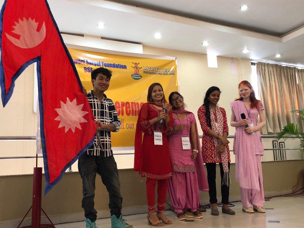 Pasang, Susmita, Bijaya, Binita and Puja