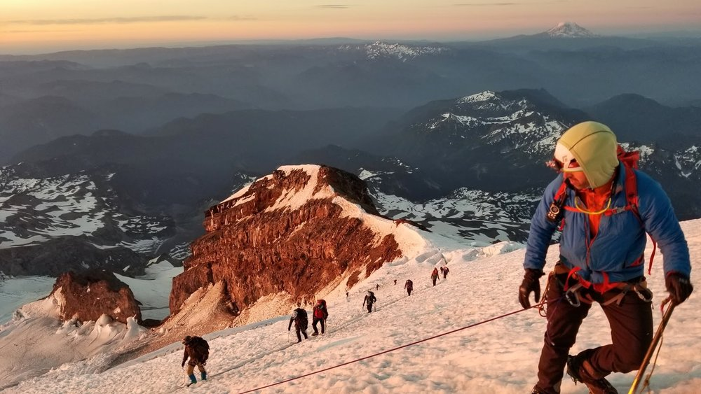 This climb is extremely rigorous, requiring excellent strength, endurance and the ability to carry a 40-plus pound pack.