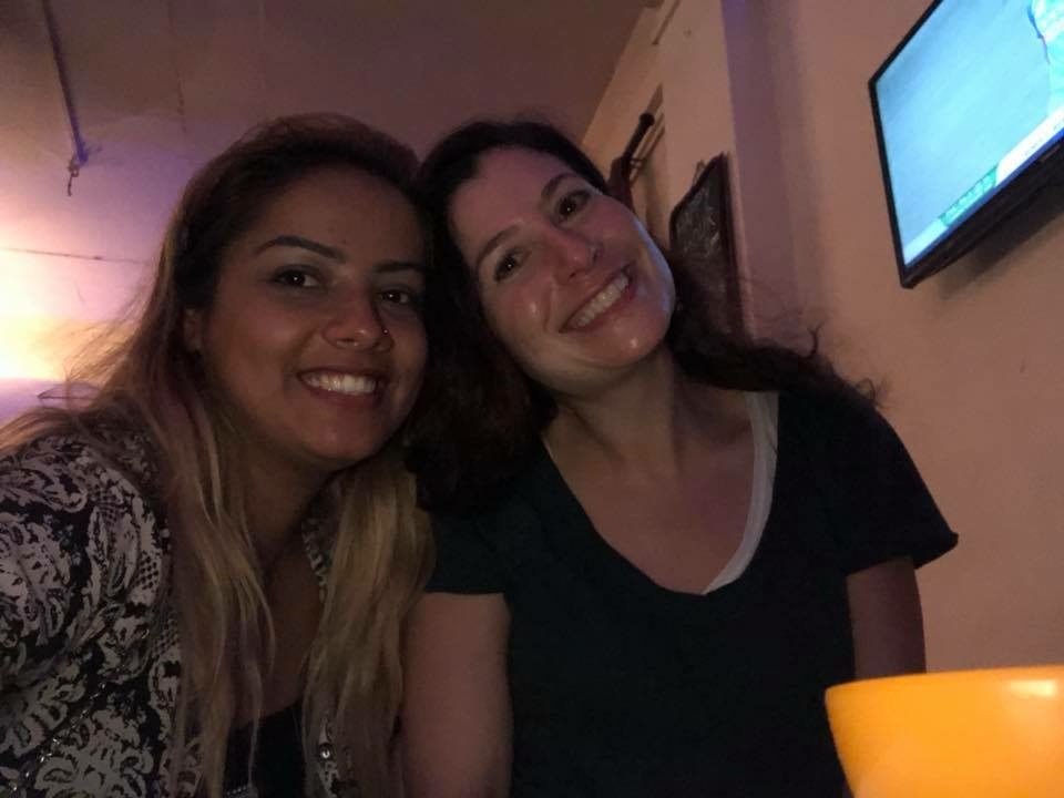 Sister love.