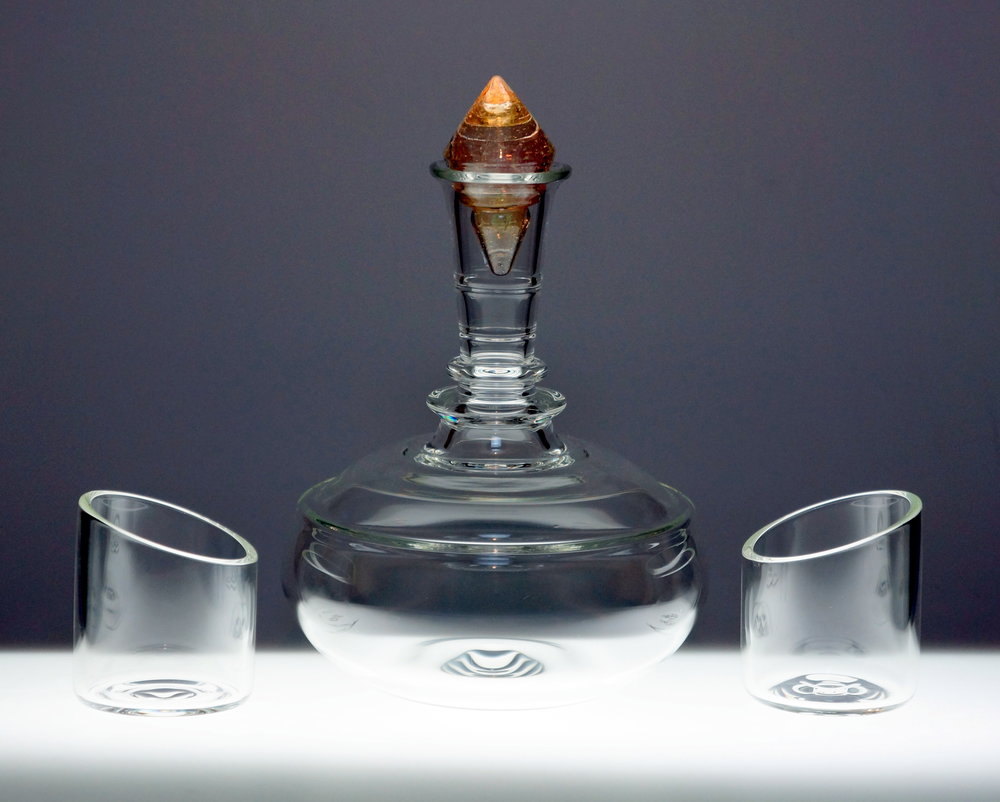 Decanter W/ Tumblers
