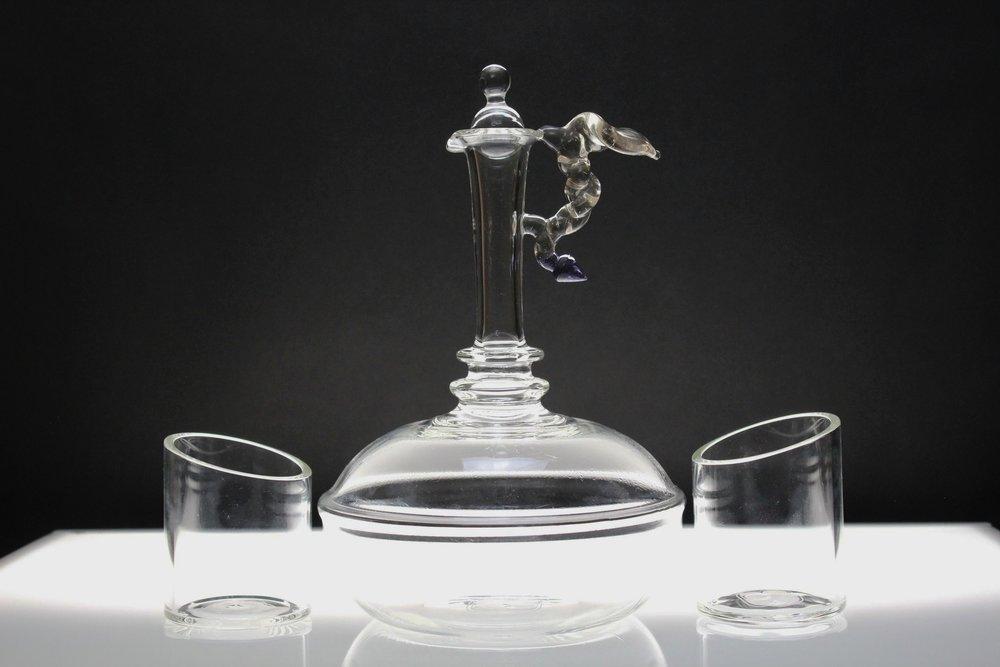 CFL Handled Decanter Set
