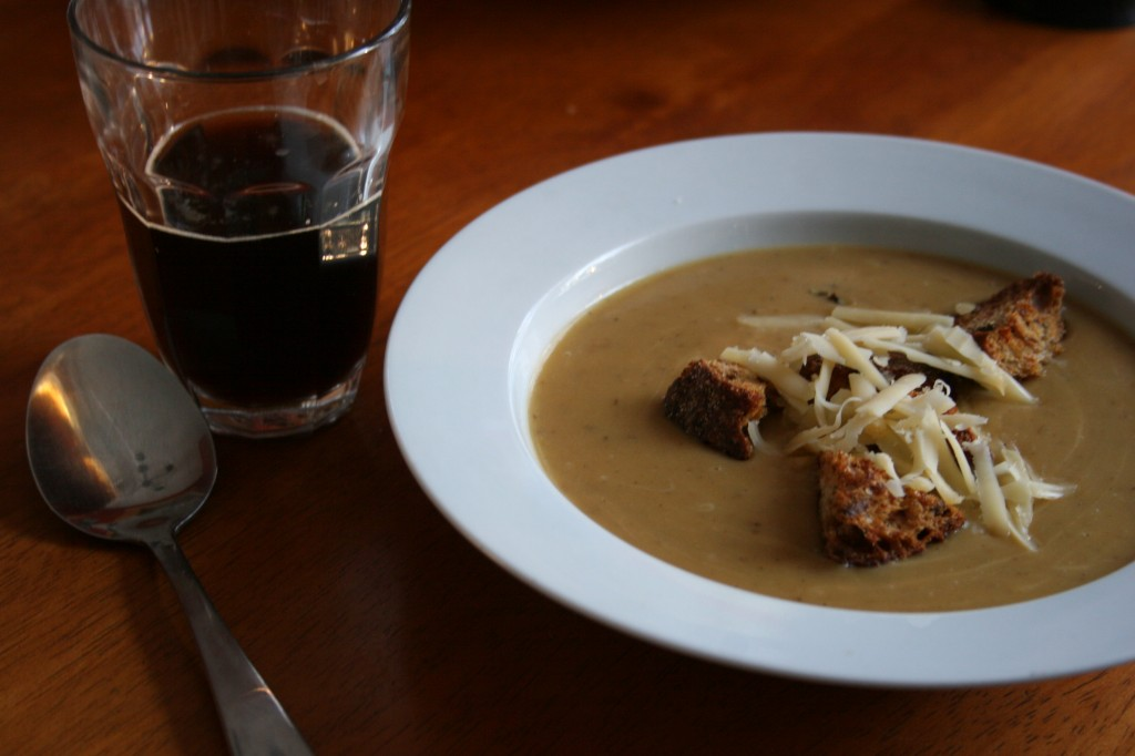 Dutch Potato Soup & Smoked Porter