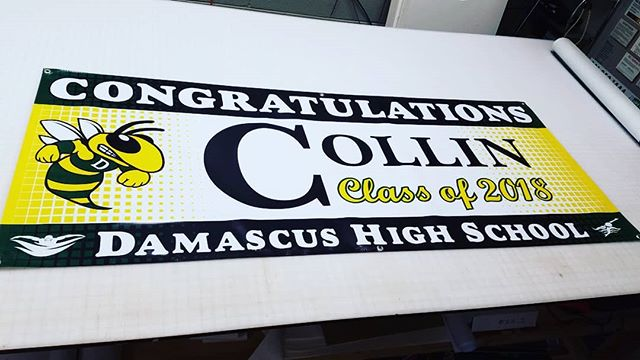 Celebrate that special time with a graduation banner