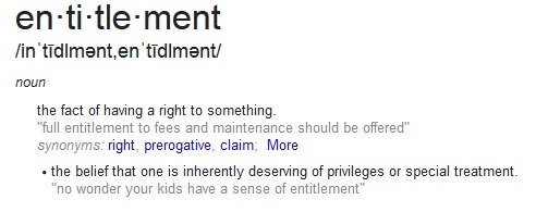 entitlement-definition
