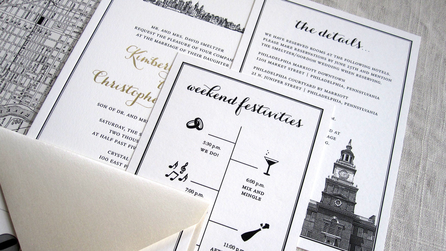 BLOG - Baltimore, Maryland Wedding Invitations — Just Ink On Paper