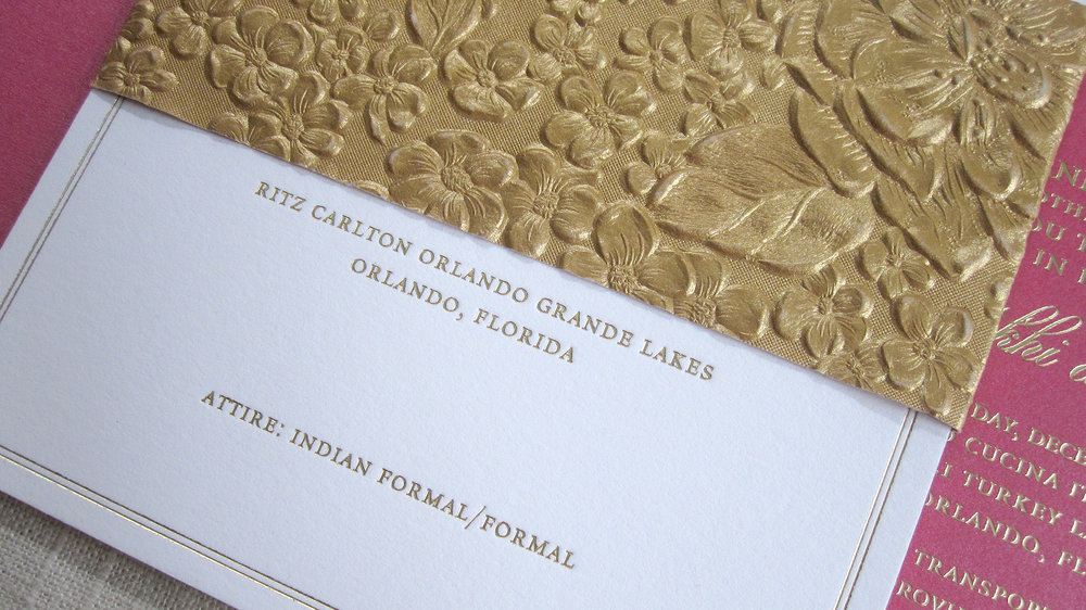 Baltimore Indian Wedding Invitations