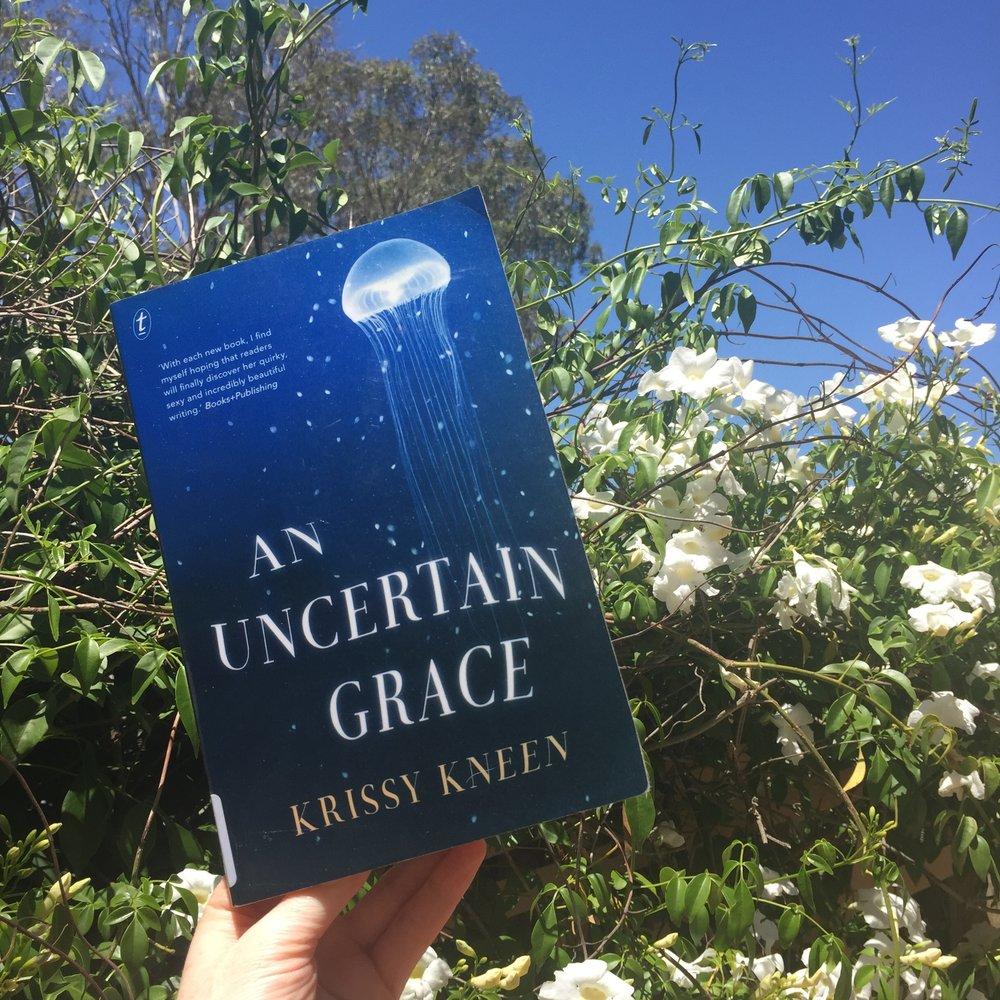 literary canon ball episode 21 an uncertain grace krissy kneen.JPG