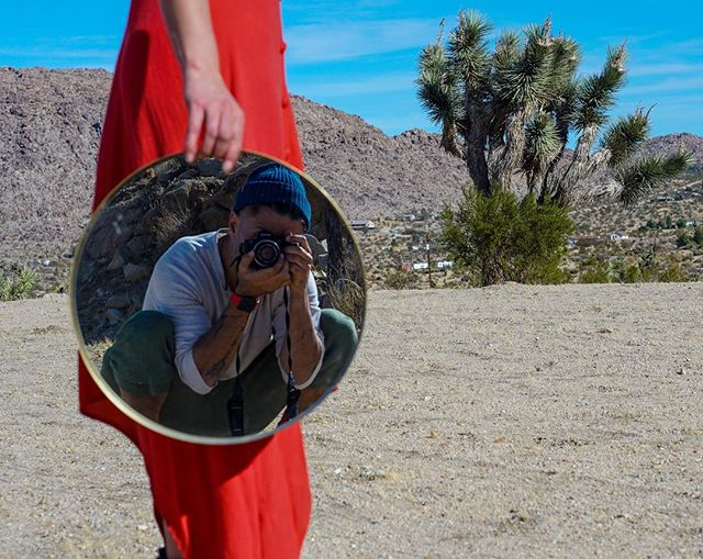 Joshua Tree adventures  Photo @amirzing  Model @cecemoves check link in bio for BTS Vlog of above adventures.