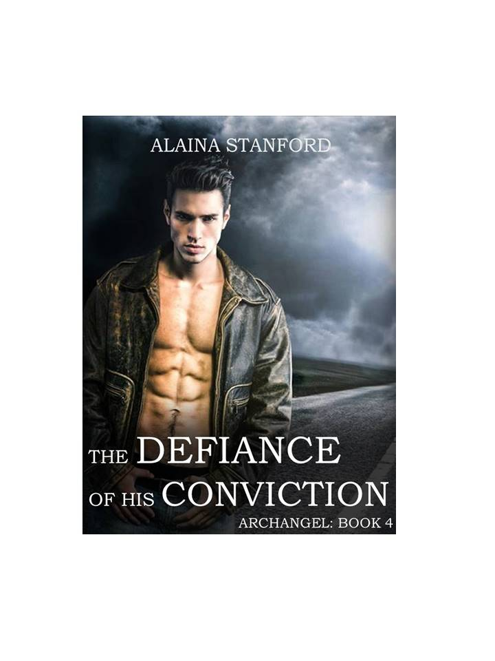The Defiance of His Conviction, Book 4   Sixteen-year old Cody grew up surrounded by archangels. It never occurred to him to question if he truly belonged. Of course he wasn't an angel's son. Why hadn't he realized that before? He looked nothing like his dad, and no one doted on him like they did Vada- Gabriel's true daughter. She was the only angel's child among them. Why didn't it ever occur to him to ask? When the truth about Cody's tainted soul is revealed its suddenly time for flight or fight.  Cody chooses to fight. But he just may lose his soul in the process