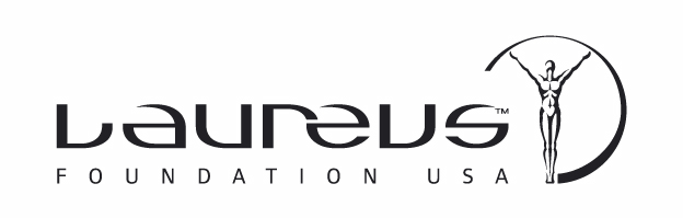 laureus USA Black logo