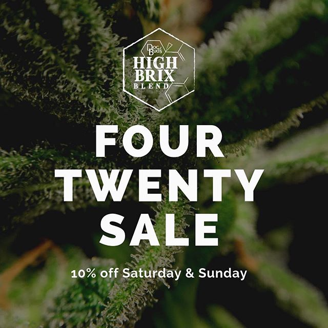 If you've been thinking about trying the kit, now's the time. Gallons not included. #420sale #sale #diy #highbrix #livingsoil #plantsgrownright #gardening #nutrientdense #mineralsmicrobesandmagic #docbudshighbrix