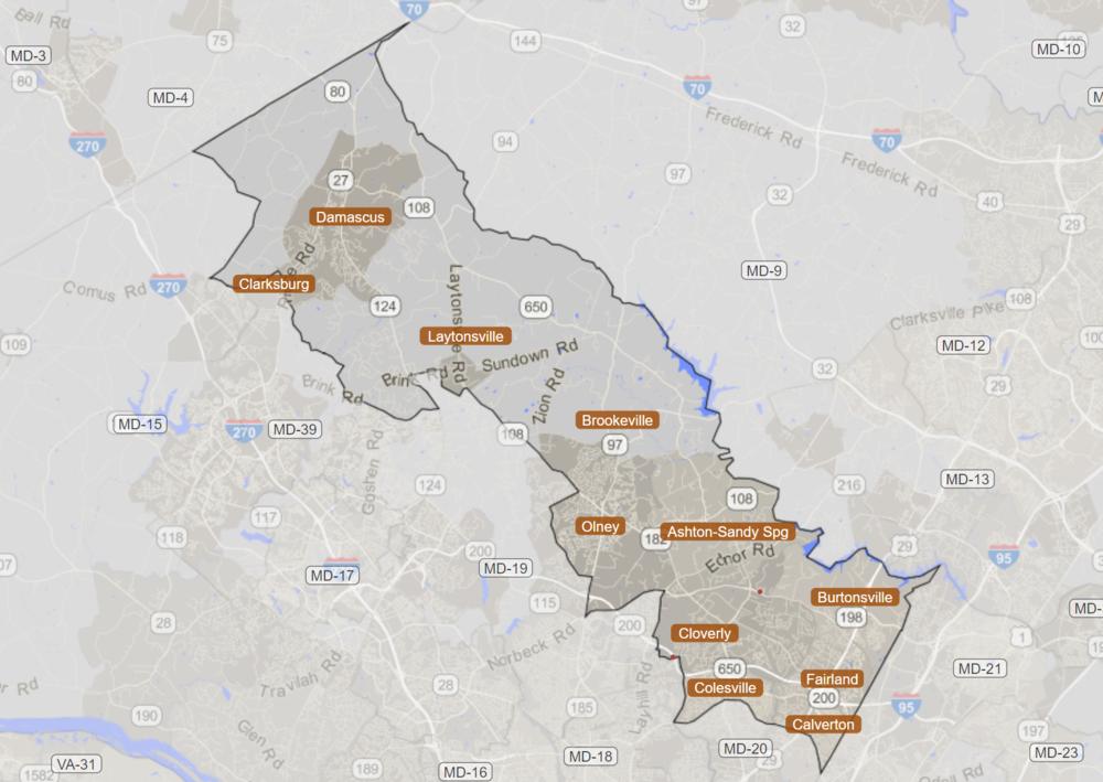 Map and demographic data via statisticalatlas.com.