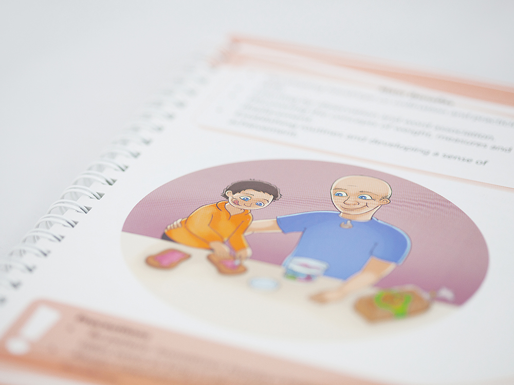 Sport Waikato Baby Handbook Educational Publication Design