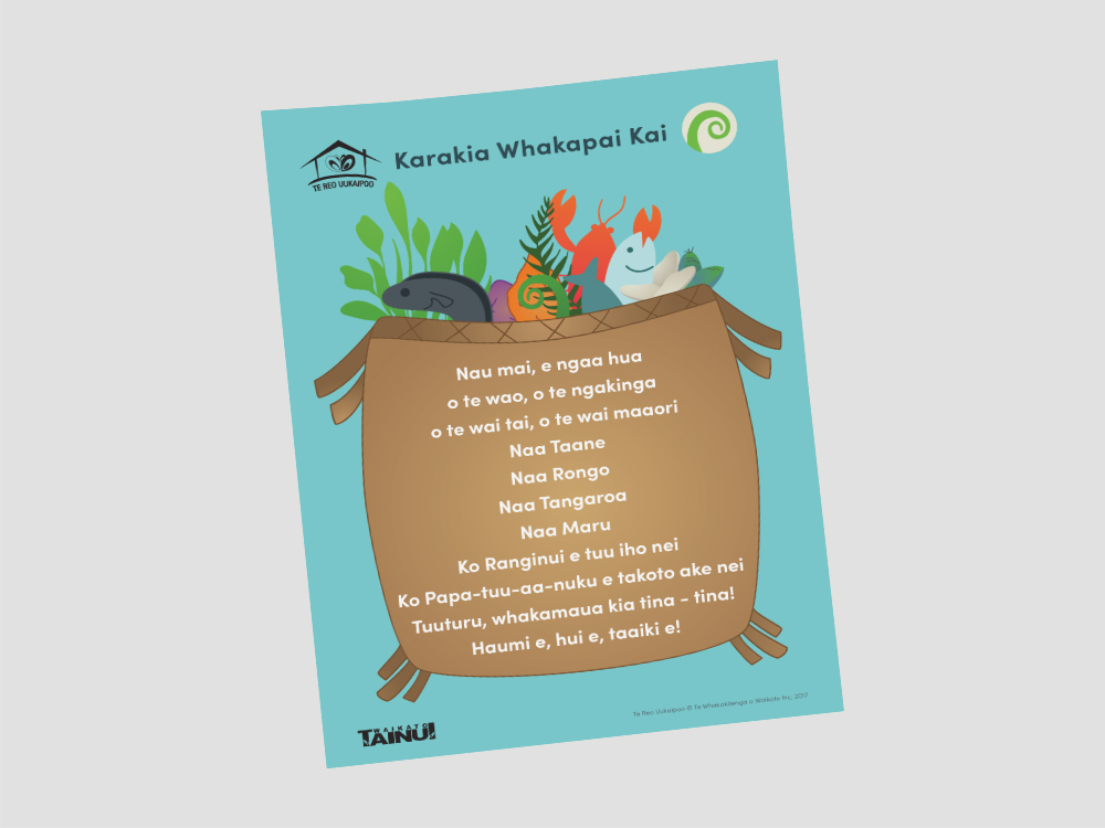 TAINUI WAIKATO TE REO UUKAIPOO Educational Design Resource