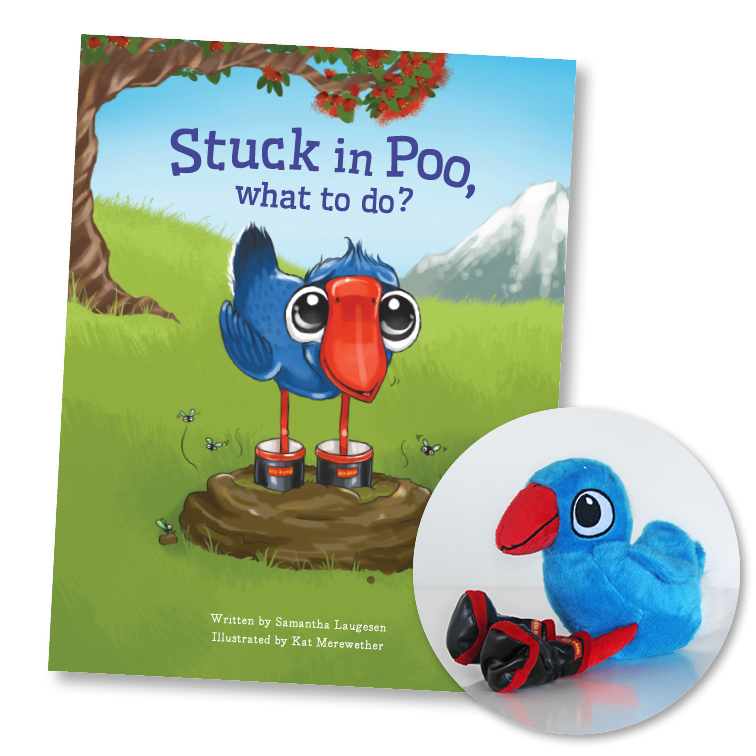 As seen in'Stuck in Poo, What to do?' - Author - Samantha LaugesenIllustrations and Design - Kat Merewether