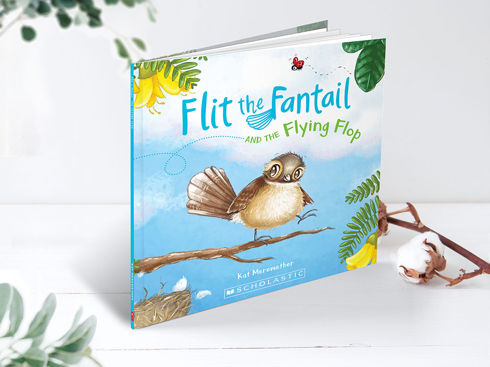 Flit the Fantail Scholastic Children's Book Illustration Books