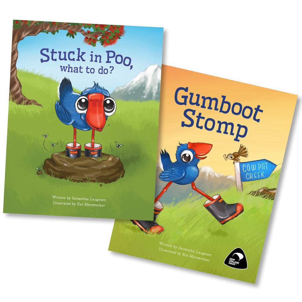 Luke the Pook Series - Author - Samantha LaugesenIllustration and Design - Kat Merewether