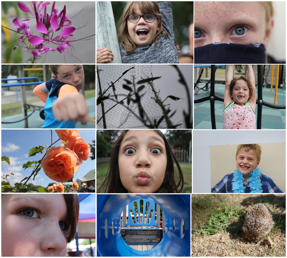 Kids Photography Lessons in Kapiti with Michelle Davies Photography
