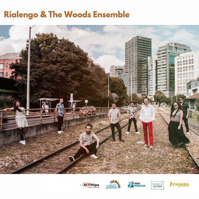 Inicia un viaje hacia las profundidades de la cumbia, @rialengomusic acompañado de @woodsensemble. Gracias a @ibermusicas por creer en este proyecto! Nos vemos Colombia en el 2019! Gracias a @arketipoartecomunicacion, @barriocolombia, @rosanchezphoto e @israel por ser parte del equipo que sustenta este proyecto!
