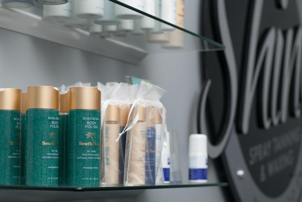spray tanning sunless tan